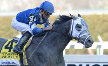 Frosted-1st-G1WoodMemorialStakes-Aqueduct-040415-ACcreditDaveAlcosser-11-HD